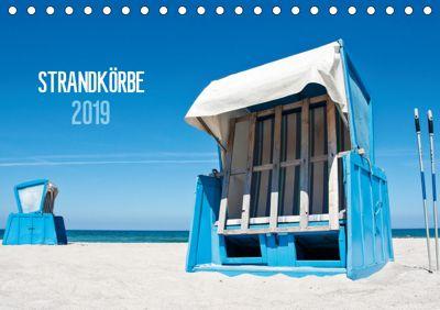 Strandkörbe 2019 (Tischkalender 2019 DIN A5 quer), Ralph Kerpa