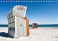 Strandkörbe 2019 (Tischkalender 2019 DIN A5 quer) - Produktdetailbild 3