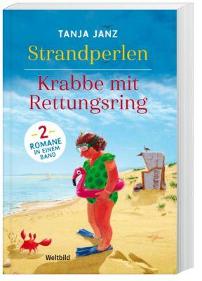 Strandperlen / Krabbe mit Rettungsring, Tanja Janz