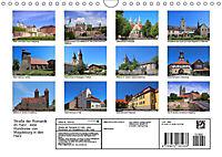 Strasse der Romanik im Harz - eine Rundreise von Magdeburg in den Harz (Wandkalender 2019 DIN A4 quer) - Produktdetailbild 13