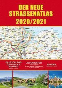 Straßenatlas 2020/2021 Deutschland/Europa