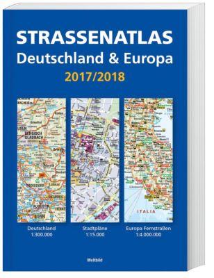Strassenatlas Deutschland & Europa 2017 / 2018