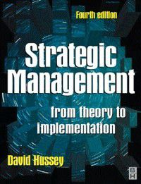 Strategic Management, David E. Hussey
