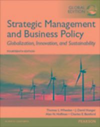 strategic management essentials international edition Essentials of strategic management: pearson new international edition by j david hunger, 9781292020907, available at book depository with free delivery worldwide.