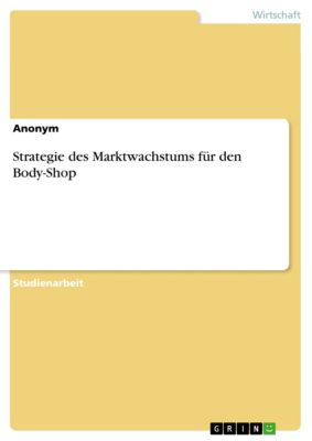 Strategie des Marktwachstums für den Body-Shop