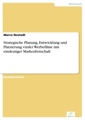 Strategische Planung, Entwicklung und Platzierung viraler Werbefilme mit eindeutiger Markenbotschaft, Marco Nostadt