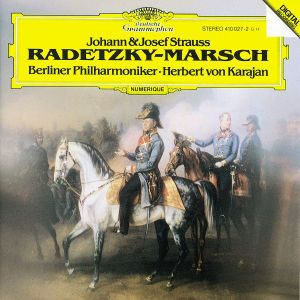 Strauss, J. I & J.II, Josef Strauss: Radetzky-Marsch, Herbert von Karajan, Bp
