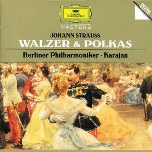 Strauss, J.I & J.II/Josef Strauss: Walzer & Polkas, Josef Hausmann, Herbert von Karajan, Bp