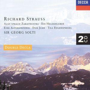 Strauss, R.: Ein Heldenleben, Also Sprach Zarathustra, Don Juan, etc., Georg Solti, Wp, Cso, Sobr