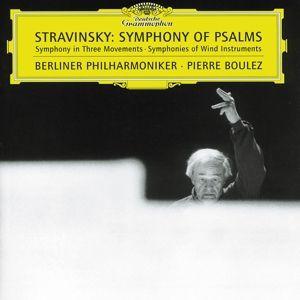 Stravinsky: Symphony of Psalms, Pierre Boulez, Bp