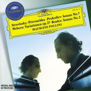 Stravinsky: Three Dances from Petruschka'/ Prokofiev: Piano Sonata No.7 / Webern: Piano Variations, Maurizio Pollini