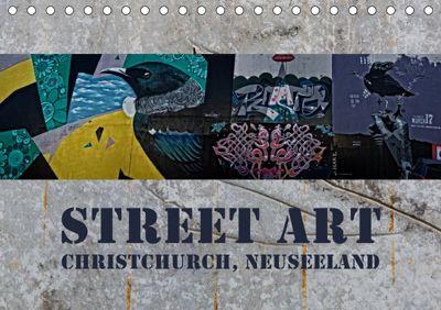 Street Art - Christchurch, Neuseeland (Tischkalender 2019 DIN A5 quer), Gundis Bort
