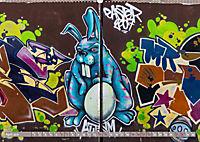 Street Art - Christchurch, Neuseeland (Wandkalender 2019 DIN A2 quer) - Produktdetailbild 4