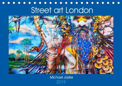 Street art London Michael Jaster (Tischkalender 2019 DIN A5 quer), Michael Jaster