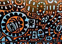 Street art London Michael Jaster (Wandkalender 2019 DIN A2 quer) - Produktdetailbild 1