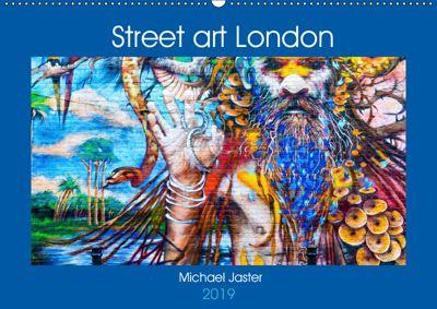 Street art London Michael Jaster (Wandkalender 2019 DIN A2 quer), Michael Jaster