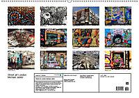 Street art London Michael Jaster (Wandkalender 2019 DIN A2 quer) - Produktdetailbild 13
