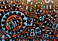 Street art London Michael Jaster (Wandkalender 2019 DIN A4 quer) - Produktdetailbild 1