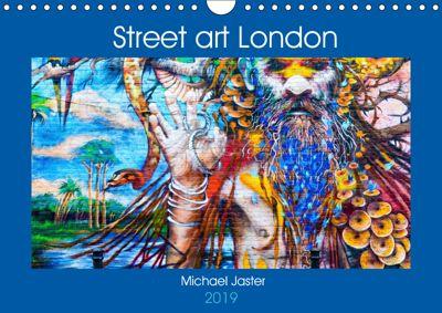 Street art London Michael Jaster (Wandkalender 2019 DIN A4 quer), Michael Jaster