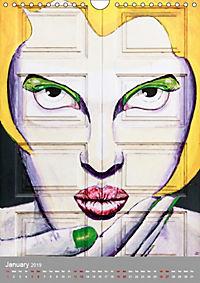 Street Art (Wall Calendar 2019 DIN A4 Portrait) - Produktdetailbild 1