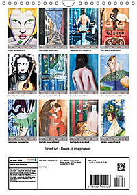 Street Art (Wall Calendar 2019 DIN A4 Portrait) - Produktdetailbild 13
