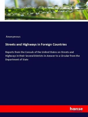Streets and Highways in Foreign Countries, Anonymous
