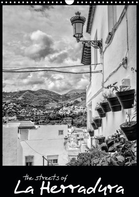 Streets of La Herradura (Wall Calendar 2019 DIN A3 Portrait), Keith Dowling