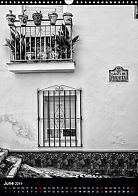 Streets of La Herradura (Wall Calendar 2019 DIN A3 Portrait) - Produktdetailbild 6