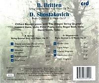 Streichquartett 1/Klavierquintett - Produktdetailbild 1