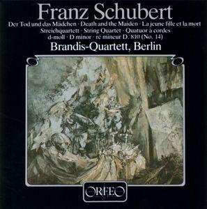 Streichquartett D-Moll D 810 Der Tod U.D.Mädchen, Brandis-Quartett