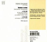 """Streichquartett Nr. 13 D 804 a-moll """"Rosamunde"""" / Nr. 14 D 810 d-moll """"Der Tod und das Mädchen"""" - Produktdetailbild 1"""