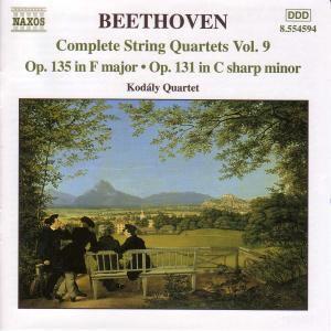 Streichquartett Nr. 14 op. 131 cis-moll / Nr. 16 op. 135 F-dur, Kodaly Quartett