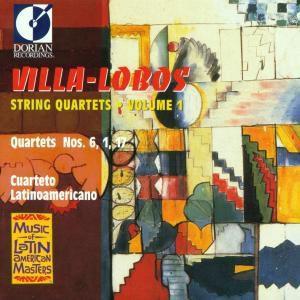 Streichquartette 1,6 & 17, Cuarteto Latinoamericano