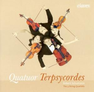 Streichquartette 1 Bis 3, Quatuor Terpsycordes