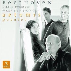 Streichquartette 131,132,18/2, Artemis Quartett