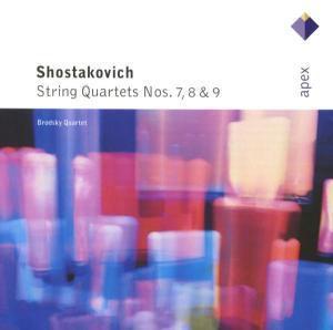 Streichquartette 7 - 9, Brodsky Quartet