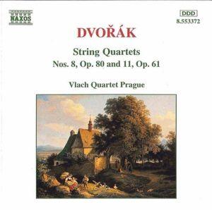 Streichquartette 8+11, Vlach-Quartett Prag