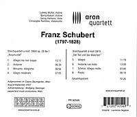 Streichquartette D 804+D 810 - Produktdetailbild 1