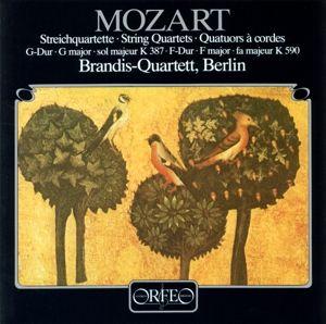 Streichquartette G-Dur Kv 387/F-Dur Kv 590, Brandis-Quartett