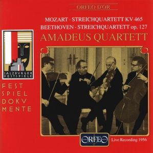 Streichquartette Kv 465/Op.127, Amadeus-Quartett