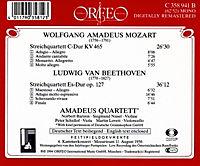 Streichquartette Kv 465/Op.127 - Produktdetailbild 1
