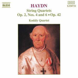 Streichquartette Op.2,4+6/Op.42, Kodaly Quartet