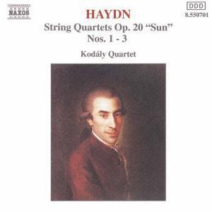 Streichquartette Op.20,1-3, Kodaly Quartet