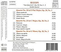 Streichquartette Op.20,1-3 - Produktdetailbild 1