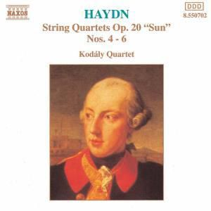 Streichquartette Op.20,4-6, Kodaly Quartet