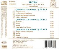 Streichquartette Op.20,4-6 - Produktdetailbild 1