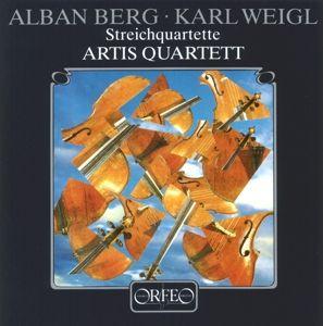 Streichquartette Op.4/Op.3/Lyrische Suite (1926), Artis-Quartett Wien