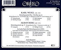 Streichquartette Op.4/Op.3/Lyrische Suite (1926) - Produktdetailbild 1