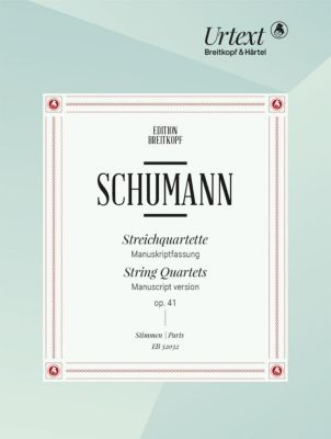 Streichquartetteop. 41 -Manuskriptfassung- - Robert Schumann pdf epub
