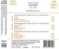Streichquartette Op.54,1-3 - Produktdetailbild 1